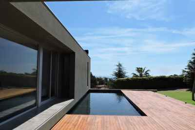 Designer house with sea views on Maresme Coast